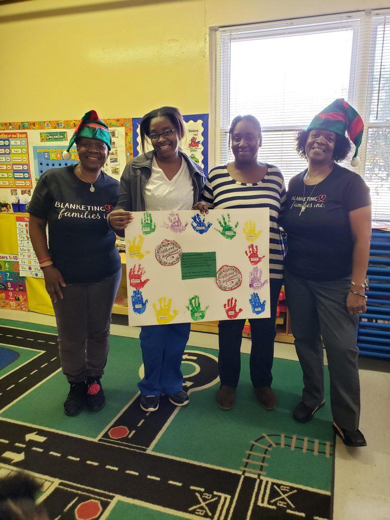 Blanketing Families Headstart Adoption Event